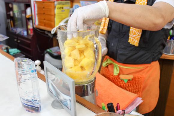 フルーツガーデンオオサキパインジュース2