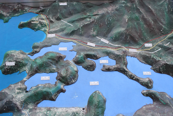 三方五湖地図