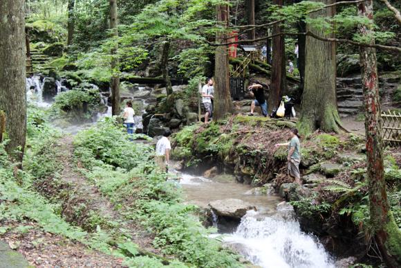 瓜割の滝7