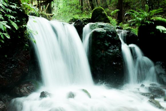 瓜割の滝6
