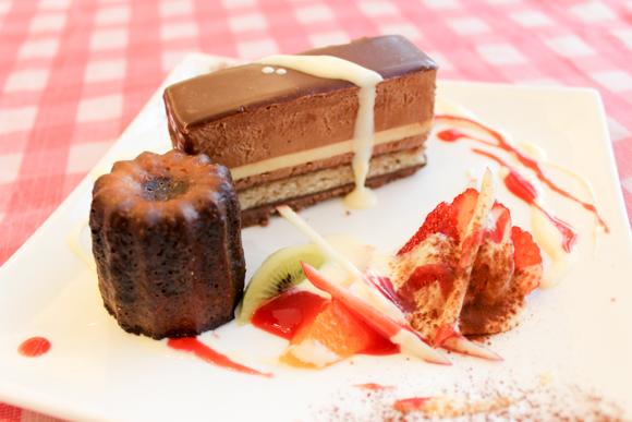 チョコレートケーキがオススメ!高槻のケーキ屋さん『アンシャンテ』
