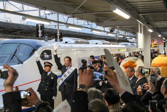 高槻駅新ホーム完成&はるか出発式に行ってきた話。
