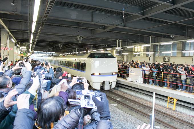 【JR高槻駅】特急サンダーバード出発式に行ってきた話。