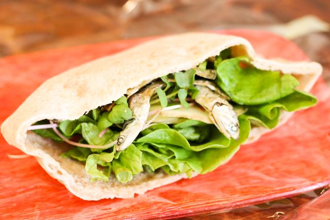 珍しいサンドイッチで高槻ランチ『Puka Organics』