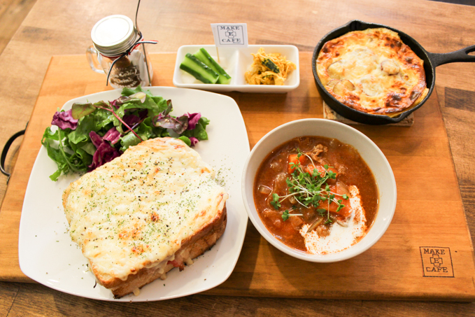 選べるランチが魅力!高槻のおすすめカフェ『MAKE E CAFE』