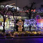 JR高槻駅前のイルミネーション2017