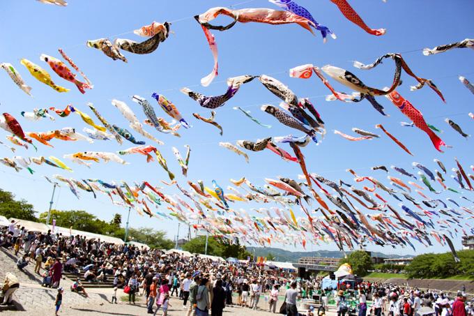 【駅から徒歩でアクセス】高槻のインスタ映えイベント『こいのぼりフェスタ1000』