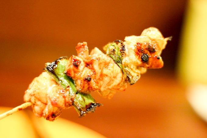 高槻にある可愛い雰囲気の炭火串焼屋さん『はなきりん』