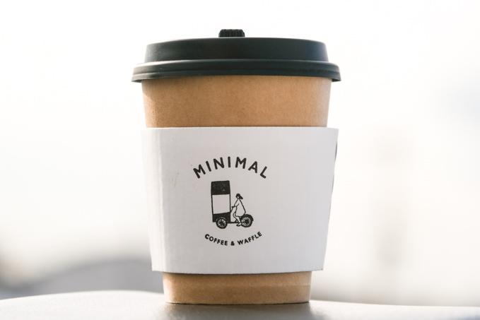 【高槻市】コーヒーとワッフルをテイクアウト『自転車カフェMINIMAL(ミニマル)』